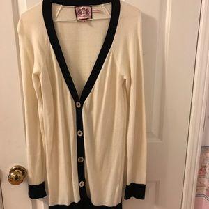 Authentic Juicy Couture cashmere cardigan (size M)